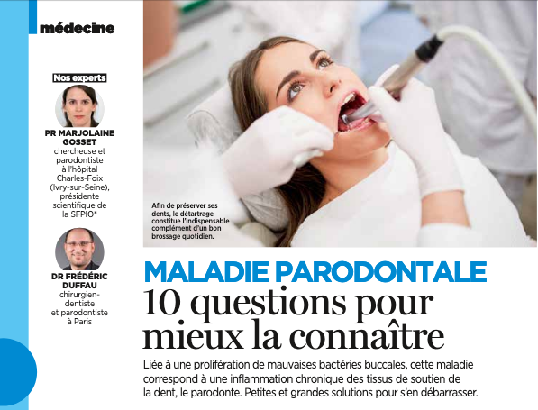 Article mal paro 10questions